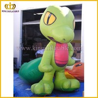 Inflatable TV cartoon model, inflatable green monster, animated inflatable model