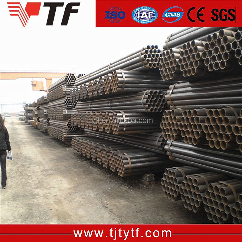 Online product selling websites astm ms price list q235 low carbon erw black welded steel tube
