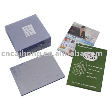 PVC Binding Cover, Plastic Cover ,Plastic binding cover