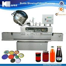 Automatic Crown Cap Sealing Machine For Salad Sauce