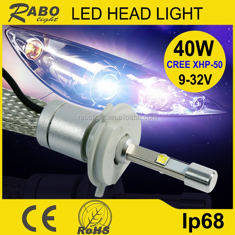New product g5 car light 4800LM H4 high low beam car light car light led 12v 21w