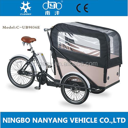 250W Step Through CLassic Electric cargo cycle