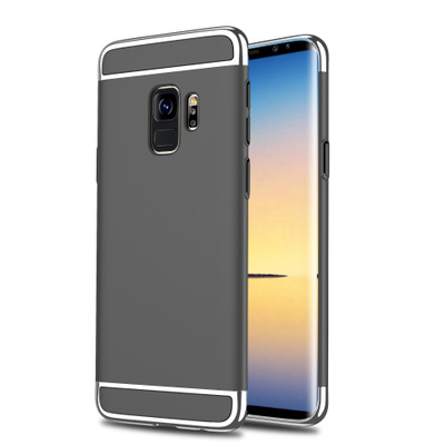 <strong>D014</strong> Trade Assurance Mobile Phone Accessory Manufactures Electroplating PC Phone Case For Samsung S9