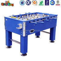 Qingfeng cheap foosball soccer table electronic foosball table with electronic scoring