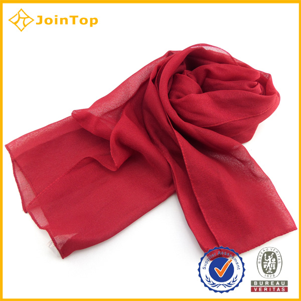 Jointop Fashion Women Natural Silk Scarf