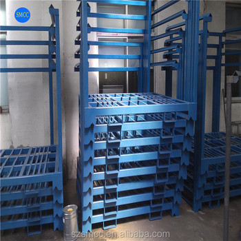 Warehouse Heavy Shelves Medium Racking Storage Cage Clever Solid Frame