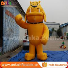 Hot China factory inflatable dog decoration price low for sale