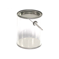 Hot Sale Small Cheap Clear Plastic Buckets with Lids