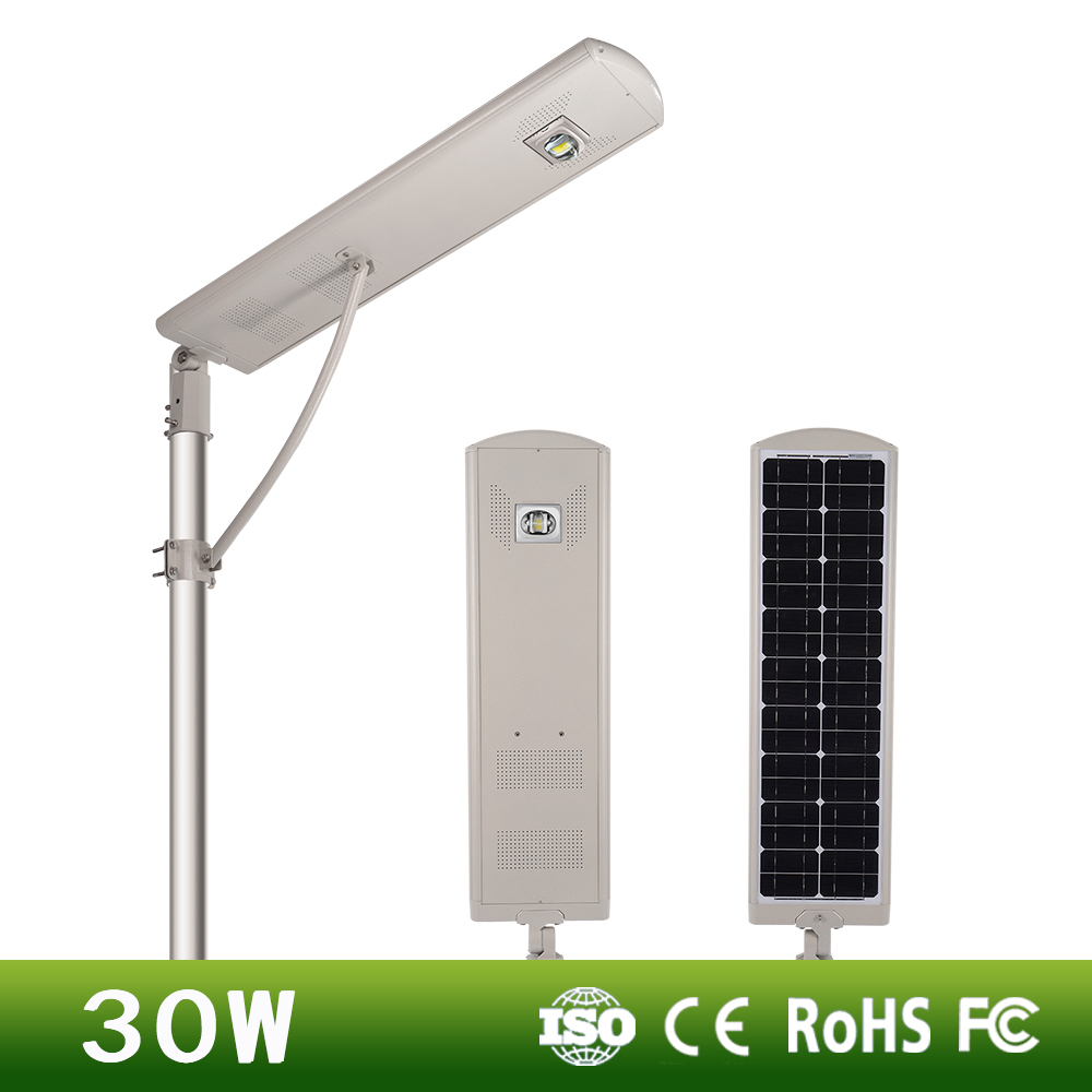 integrated solar street light wireless solar led street light for sale