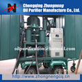Mobile Transformer Oil Purification Plant, High Vacuum Aging Transformer Oil Renew Plant