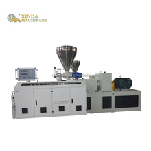 Xingda high efficient oem hand plastic pvc pipe extruder machine