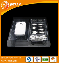 Factory Popular Clear Custom Electronic Phone Cable Packaging Box