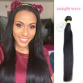 10A grade 100% remy hair weaves for black women,unprocessed wholesale virgin Peruvian Straight hair extension