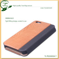 FOR iPhone Case in Camo design with authentic packaging.2013 new arrival wood pu case for iphone
