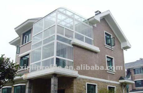 UPVC sliding profile for glass window and door from China maufacture