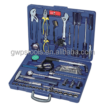 93pcs tool kit for vehicle maintenance in blow case