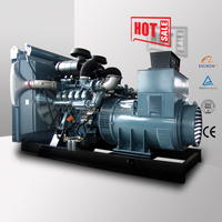 Fast delivery Europe Origin Germany MAN engine 400kw diesel power generator 500kva electric generator