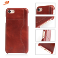 full grain leather cover case for Apple iPhone 7 case