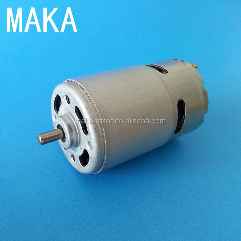 770JH03 12v dc double shaft motor for winch water fountain