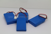 18650 7.4v 1200mah li-ion battery pack rechargeable battery