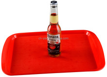 Promotional Top Quality Save Storage Space Round Acrylic Serving Tray
