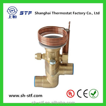 TCLE TRFE refrigerator brass thermal expansion valve for R410a