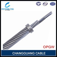High quality single mode armored G652D G655 Fiber Optical opgw Cable
