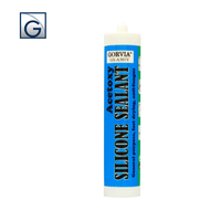 Transparent color Acetic silicone sealant for window&door /Gorvia A301R