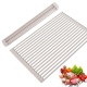 Wholesale Best Selling Over The Sink Silicone Roll Up Dish Drying Rack