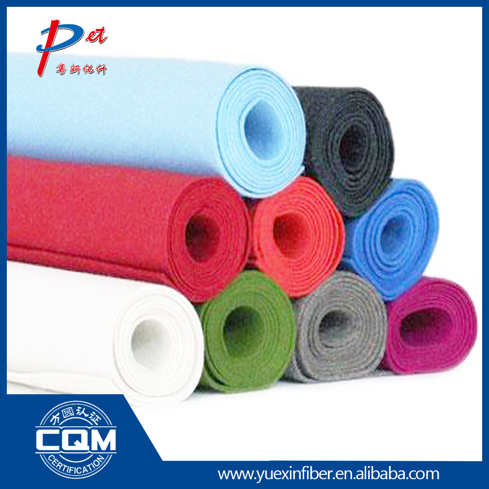 Felt fabric bag material polyester wool felt