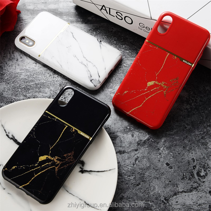 mobile phone shell, case <strong>cover</strong> for iphone 8 marble shockproof case, Customized your brand tpu for iphone 8 case