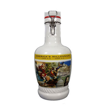 Home Decorative Painting Ceramic Beer Growler