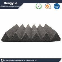 commercial fan use shapeful Flame retardant Pyramid Acoustic Foam Panels