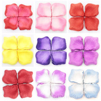 Rose Flower Petals Leaves Wedding Table Decorations throwing heart petals valentines day decoration party supply
