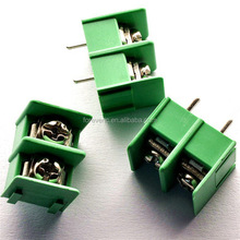 7.62mm Pitch 2 Pin 2 Way Straight Pin PCB Screw Terminal Block Connector