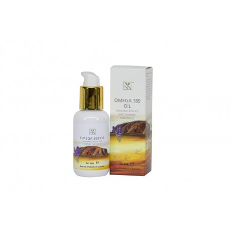 Y-NOT NATURAL Omega 369 Oil (Australian 100% Pure/Natural Emu Oil) with Lavender Essential Oil