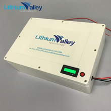 Customized rechargebale 48V 10AH lifepo4 battery pack