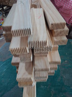 solid wood material rubber wood finger joint laminated board