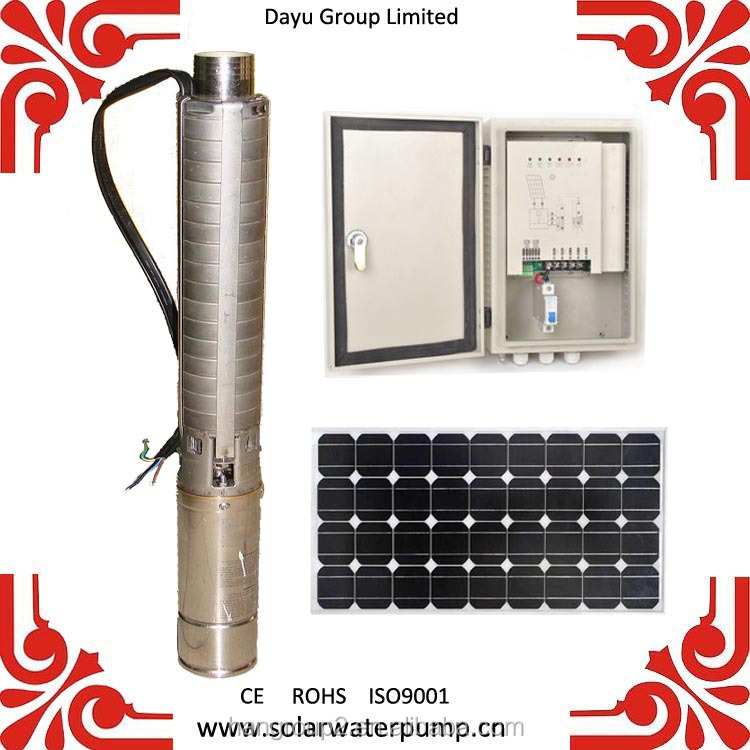 price solar water pump for dc 220 volt for irrigation