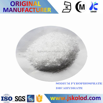 Manufacturer supply good quality Sodium pyrophosphate Decahydrate price