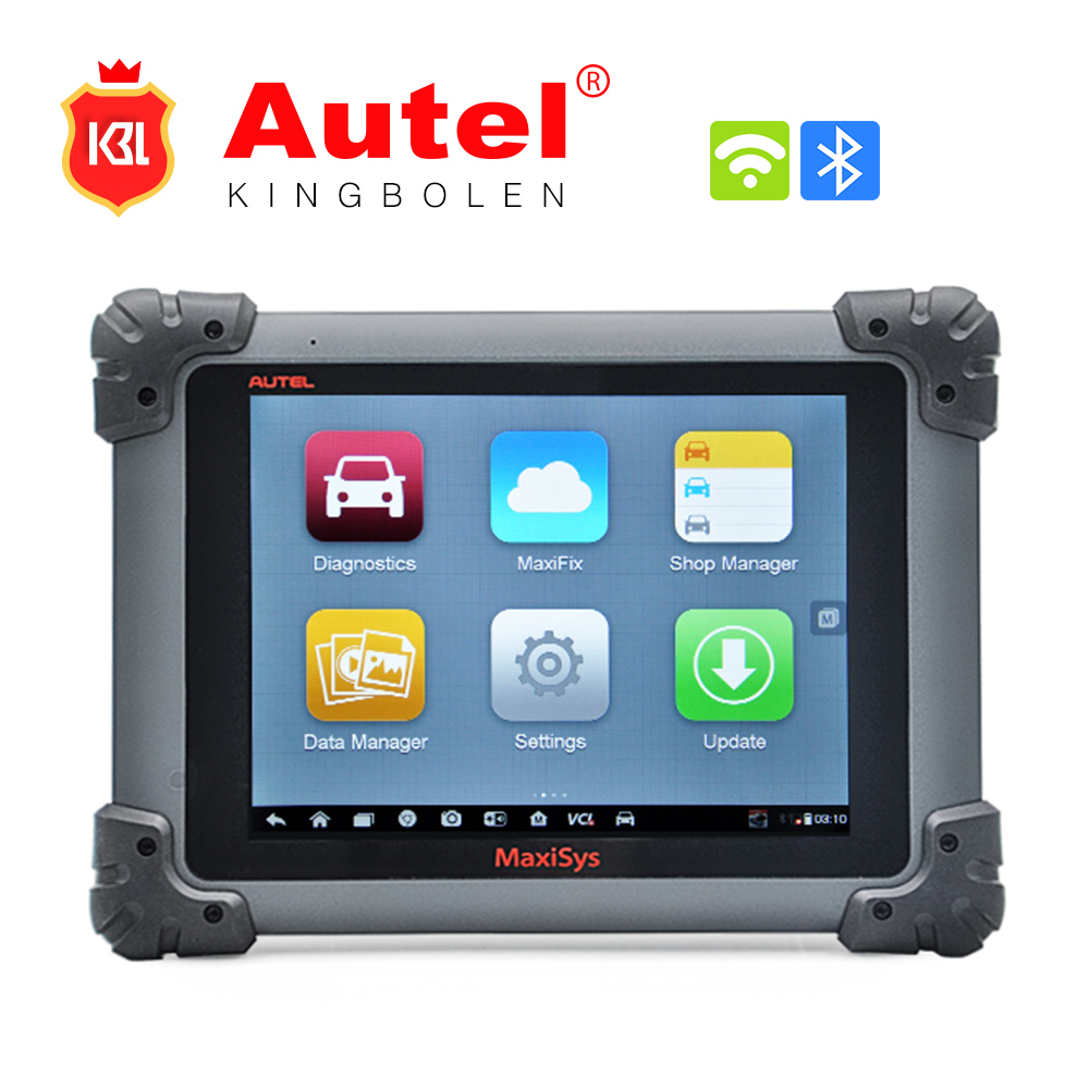 New 100% Original Universal Autel MaxiSys Pro MS908P ECU Programmer J-2534 OBD2 WIFI Scanner Professional Car Diagnostic Tool