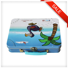 Custom Tobacco Tin Metal Lunch Box Packing