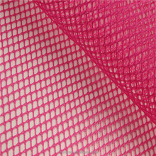 Stiff polyester diamond knitted bag mesh fabric for box lining