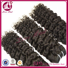 Up quality 8 inch jerry curl hair weave brazilian human hair wet and wavy weft different kinds of brazilian hair