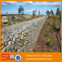 Galvanized hexagonal gabion box (Used for retaining wall and river protection