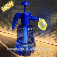 water balloons and hand balloon pump for kids