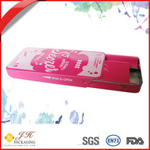 JH Lovely luster electronic cigarette metal tin box