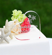 Clear customized thickness acrylic lucite wedding centerpieces