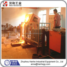 100KG Electric Medium Frequency Induction Automatic Melting Furnace for Metal Scrap