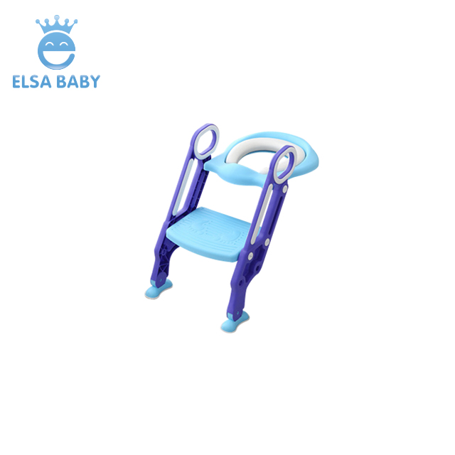 Esay to installation smart for Toddlers Kid <strong>Baby</strong>, Training Seat with Non-Slip Pads Step Stool Potty Toilet Trainer Seat ladder